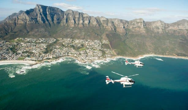 Cape Town Helicopters Winelands NEW