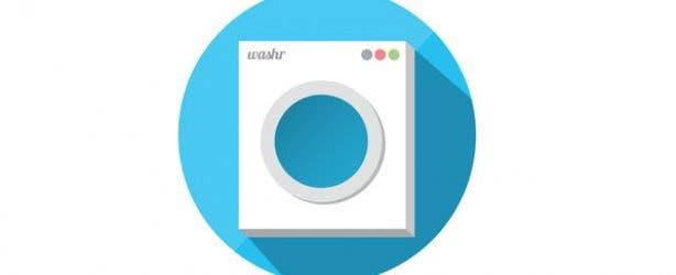 Washr Online Laundromat Logo