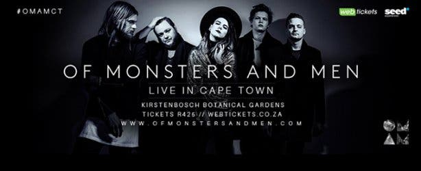 Of Monsters Ad Men Cape Town Concert 1