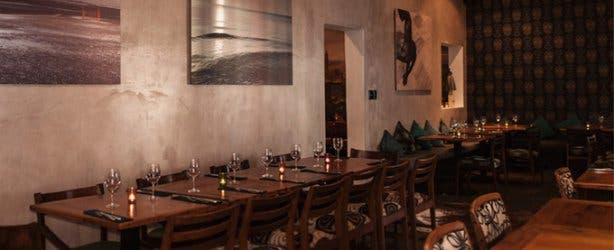 Charcoal Dining Restaurant Interior Cape Town