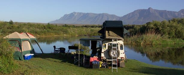Camping at the Bontebok National Park