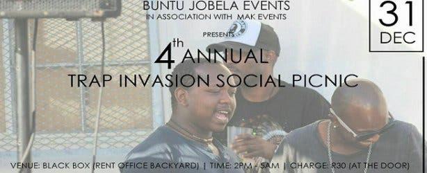 trap invasion social picnic