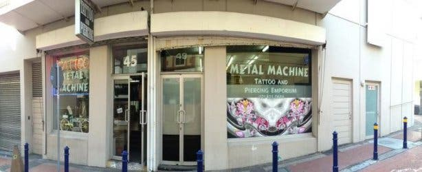 Metal Machines Tattoo