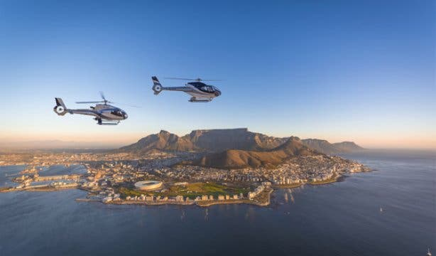 Cape Town Helicopters Robben Island NEW 2