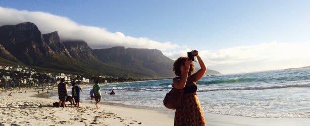 Diana Matroos in Kaapstad