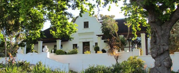 Manor House at Saxenburg Wine Farm Stellenbosch