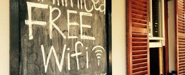 Blindiana Barista Free Wi-Fi