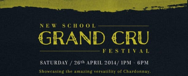 New School Grand Cru Chardonnay Festival