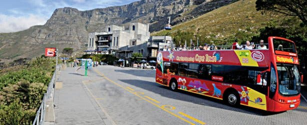 Sightseeing Bus Tours Table Mountain