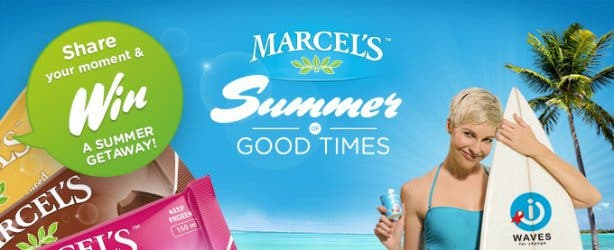 Marcel's Frozen Yoghurt Summer of Good Times Campaign