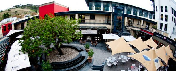 Cape Quarter Piazza from above