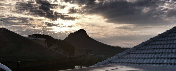 Lion's Head View from Vredehoek
