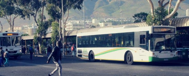 Golden Arrow Bus Cape Town