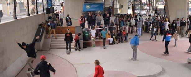 Cape Town Gardens Skate Park Skaters