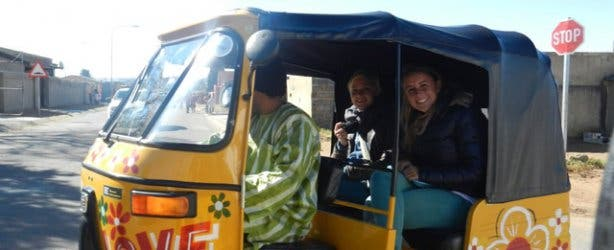 Touring in Soweto