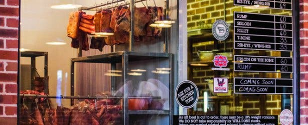 The Local Grill butchery