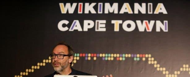 Jimmy Wales Wikimania Cape Town