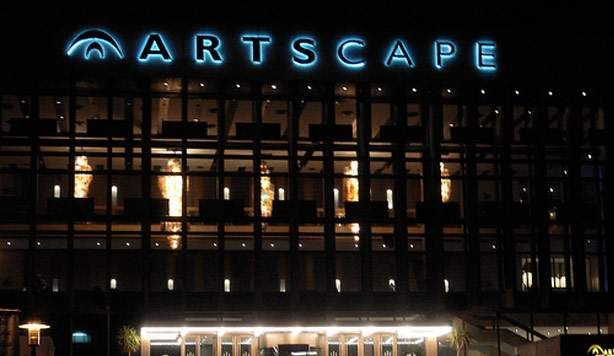 artscape photo outside lights