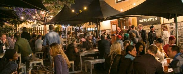Biergarten Weinhaus Kaapstad
