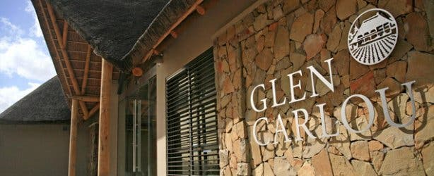 Glen Carlou wine farm entrance