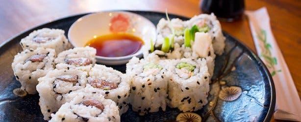 Obi Restaurant Sushi Roll 3