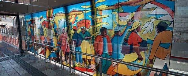 MyCiTi Bus Station Artworks 4
