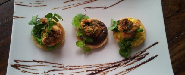 Tostadas and tapas from Orinoco Cape Town
