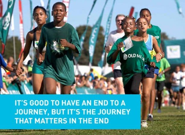 Old Mutual Two Oceans Marathon kids