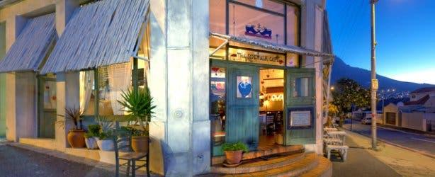 Sidewalk Cafe at night