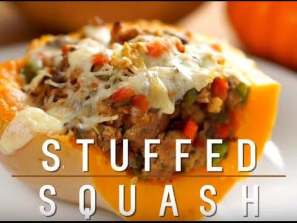 stuffed squash
