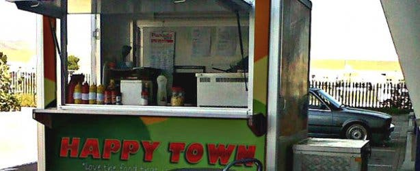 Happytown Healthy Fast Food Trailer