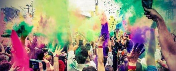 Hindu Festival of Colour Cape Town December