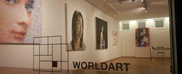 Wordlart gallery Munich inside