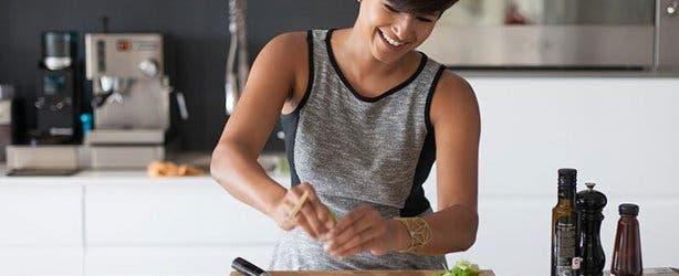 Kamini Pather cooking