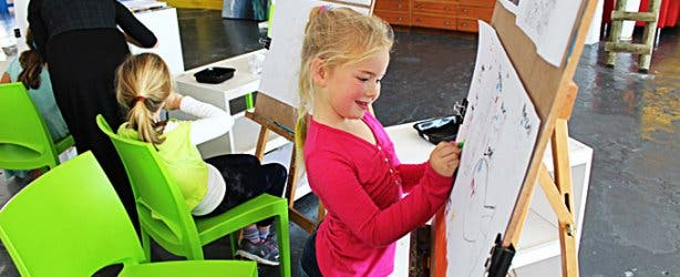 Childrens Drawing Lessons at Bright Art Studio