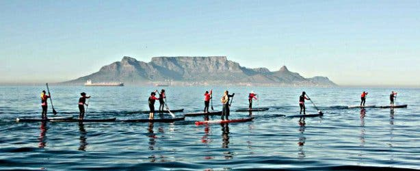 robben island, stand up paddle, table mountain, water, ocean, fun, sport, relax, adventure, adrenalin, action