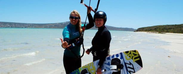 Windtown resort kitesurfing school