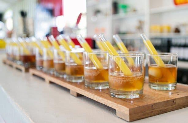 Cocktails at Festa sundowner spot