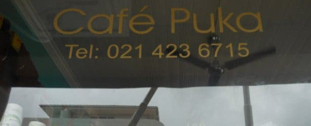 Cafe Puka Window
