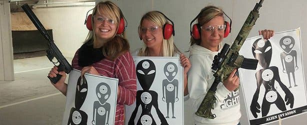 Ladies Night at Gun Fun Cape Town