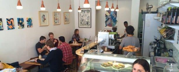 Inside Molten Toffee Cafe Kloof Street