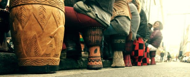 Djembe Drumming in Cape Town