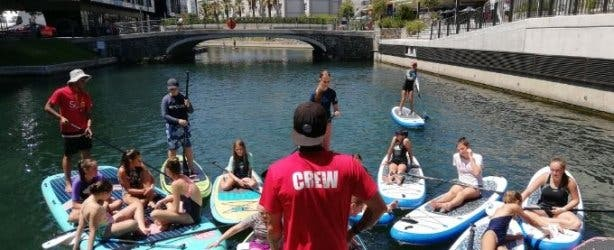 SUP Cape Town stand up paddle board lessons