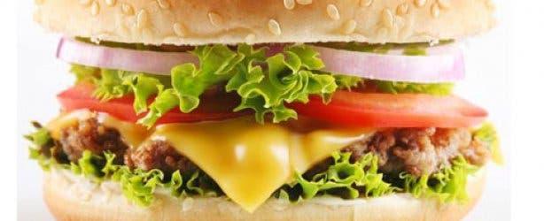 Happytown Healthy Fast Food Burger