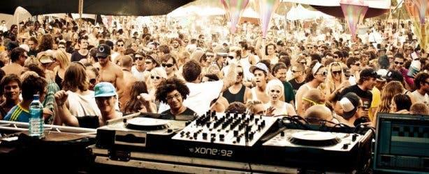 Origin electronic dance festival 2013
