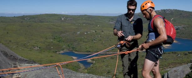 Adventure Abseiling Activities Paarl Rock