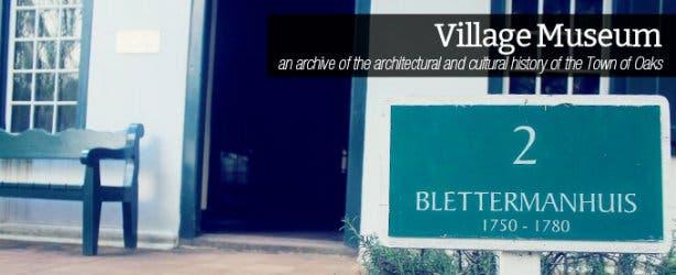 Discover Stellenbosch Village Museum
