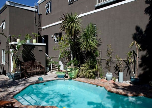 The Pool at the BIG Backpackers