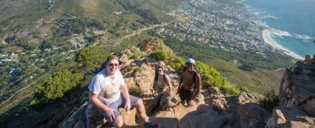 once in cape town hike