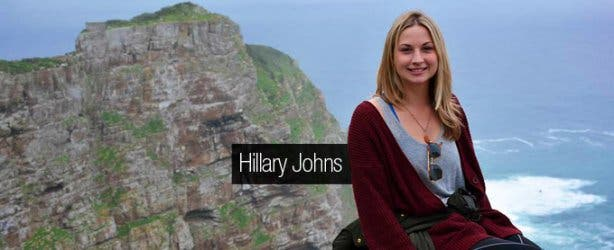 VACorps Intern in Cape Town Hillary Johns